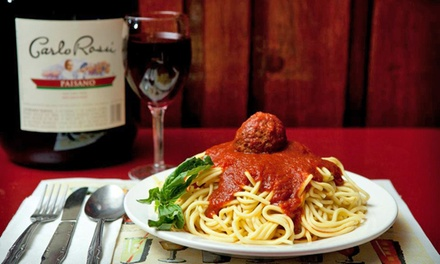 $12 for $20 Worth of Italian Food and Drinks at Mrs. Robino's