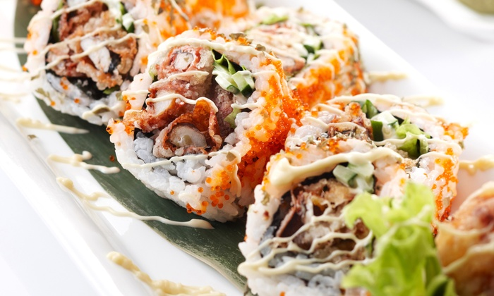 Tokyo Grill - Springfield: $8 for $16 Worth of Sushi, Hibachi, and Other Japanese Cuisine for Two at Tokyo Grill
