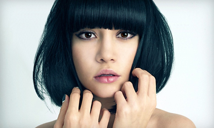 Assaf Aveda Salon - Sunny Isles: $50 Worth of Cuts, Styling, and Coloring