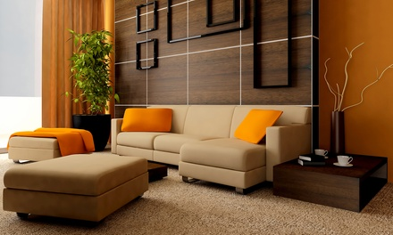 $16 for Carpet Cleaning for Two Rooms from SERVIZ ($66 Value)
