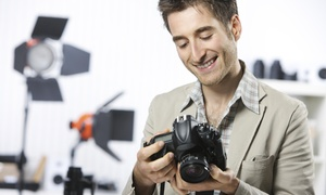 All Media Solutions: 30-Minute Studio Photo Shoot with Prints from All Media Solutions (75% Off)
