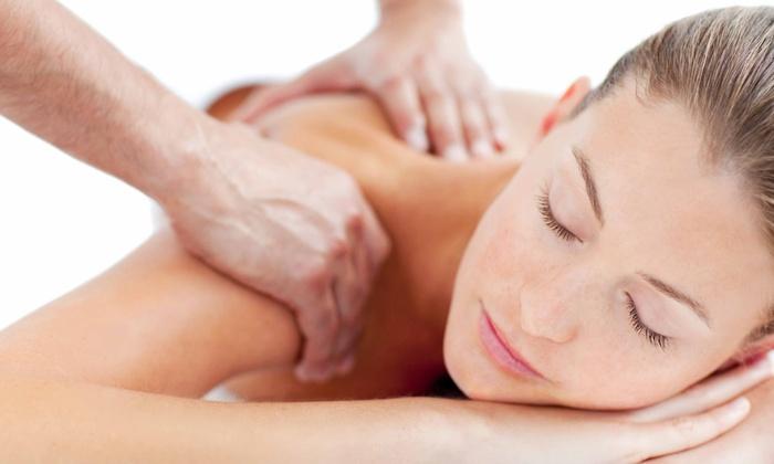 Healthy Massage - Northeast Yonkers: Deep-Tissue Massage with Hot Stones or Foot Massage with Foot Soak at Healthy Massage (50% Off)