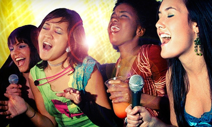 Limelight Stage & Studios - Chinatown - Leather District: Karaoke Package for Two or Private Studio Rental Package for up to 10 at Limelight Stage & Studios (Up to 77% Off)