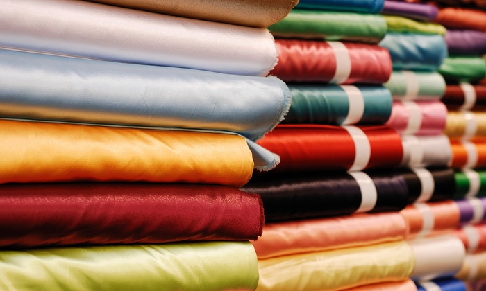 Instock Fabrics - Grant: $26 for $50 Worth of Home Decor Fabric, Foam Rubber, and Supplies at Instock Fabrics