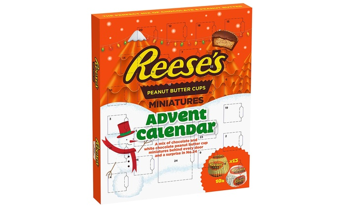 One Two Or Three Reeses Peanut Butter Cup Advent Calendars