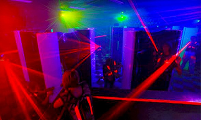 Terrace Sports - Tampa: $16 for Four Games of Laser Tag and a Pizza at Terrace Sports in Temple Terrace (Up to $47.75 Value)