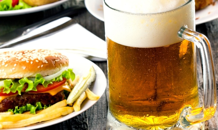 Burke's Restaurant and Bar - Southeast Yonkers: Burger or Sandwich Meal with Beer for Two or Four at Burke's Restaurant and Bar (Up to 61% Off)