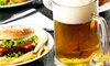 Burkes Restaurant and Bar - Southeast Yonkers: Burger or Sandwich Meal with Beer for Two or Four at Burke's Restaurant and Bar (Up to 61% Off)