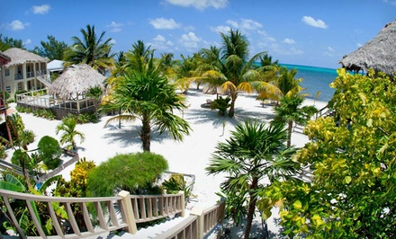 4-, 5-, or 7-Night Stay for Two with Airport Transfers and Welcome Drinks at Exotic Caye Beach Resort in Belize
