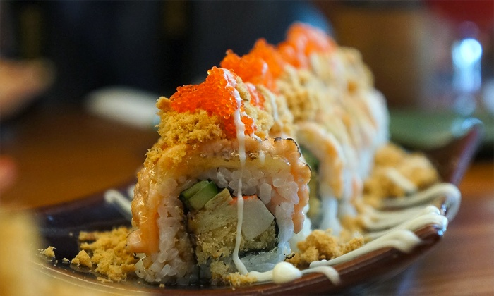 Tose Steak & Sushi - Pearland: $16 for $30 Worth of Japanese Sushi and Chinese Cuisine at Tose Steak & Sushi