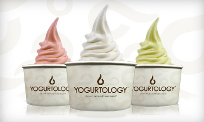 Yogurtology - Multiple Locations: $15 for Five Vouchers for Frozen Yogurt and Treats at Yogurtology ($30 Value)