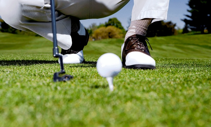 Sunset Landing Golf Club and Cedar Ridge Golf Course - Multiple Locations: 18-Hole Round of Golf for Two with Cart at Sunset Landing Golf Course or Cedar Ridge Golf Course (Up to 55% Off)