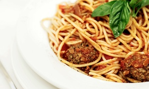 Luciano's: Italian Dinner with Dessert for Two or Four, or $12 for $20 Worth of Italian Food at Lunch at Luciano's