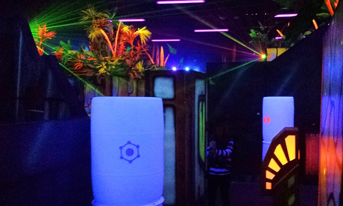 Chipper's Lanes FUN Center - Chipper's Lanes Broomfield Center - Broomfield: 2 or 4 Games of Laser Tag with Options for Soda and Pizza at Chipper's Lanes FUN Center (Up to 51% Off)