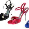 Your Party Shoes Women's Versailles Satin Stilettos