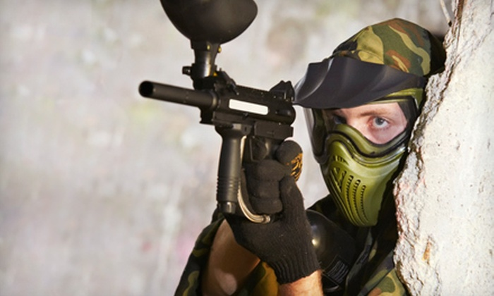 Ellen's Amusement Center - Kingswood: Paintball Packages for 2, 4, or 10 at Ellen's Amusement Center in Cedar Hill (Up to 53% Off)