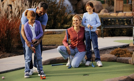 Unlimited Mini Golf for Two or Four with Ice-Cream and Chips at Mac and Bones Miniature Golf (Up to 56% Off)