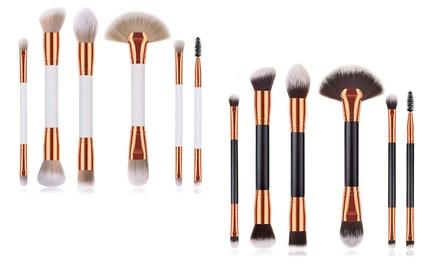 Set van 6 makeup kwasten