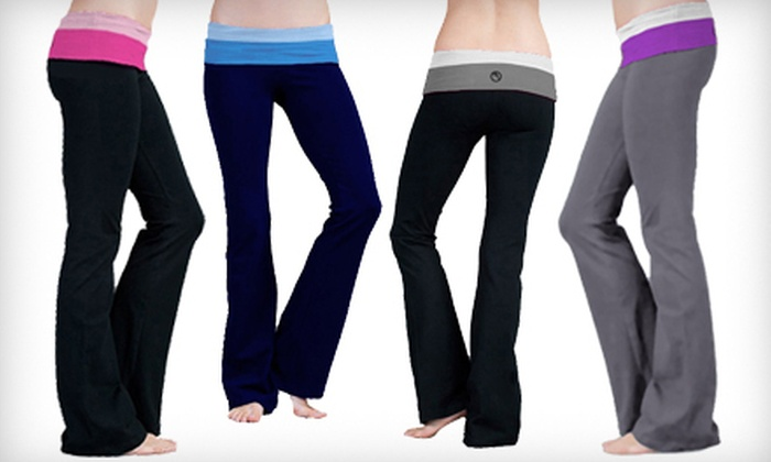 Long Yoga Pants | Groupon Goods