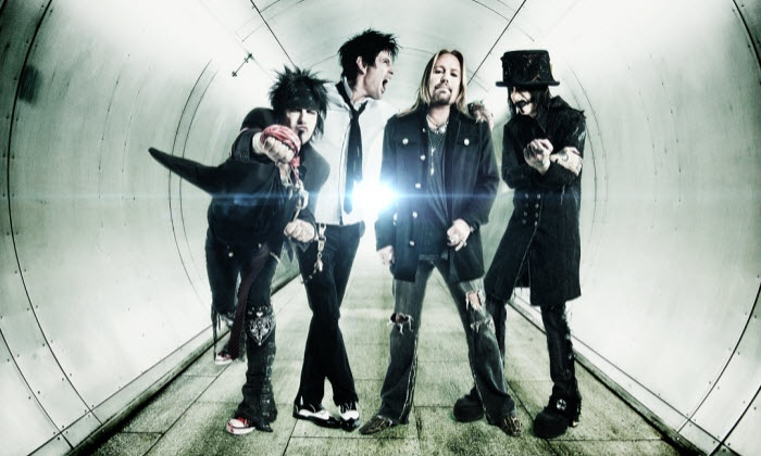 Dodge Presents: Mötley Crüe - The Final Tour - DTE Energy Music Theatre: Dodge Presents: Motley Crue – The Final Tour with Alice Cooper on Saturday August 9 (Up to $35.60 Value)