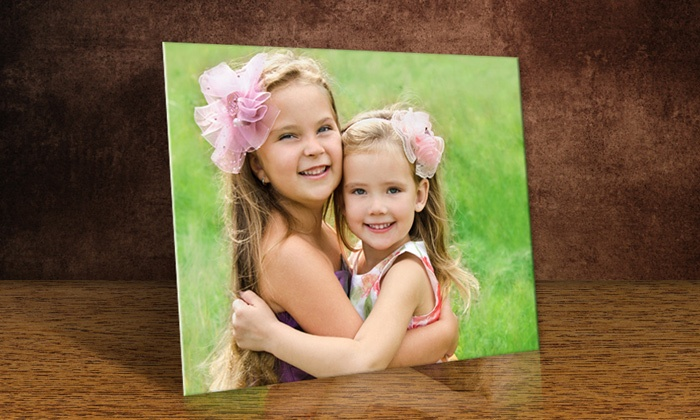 Printerpix: Custom Photo Print on Metal with FreeShipping from PrinterPix (Up to 86% Off). Three Options Available.
