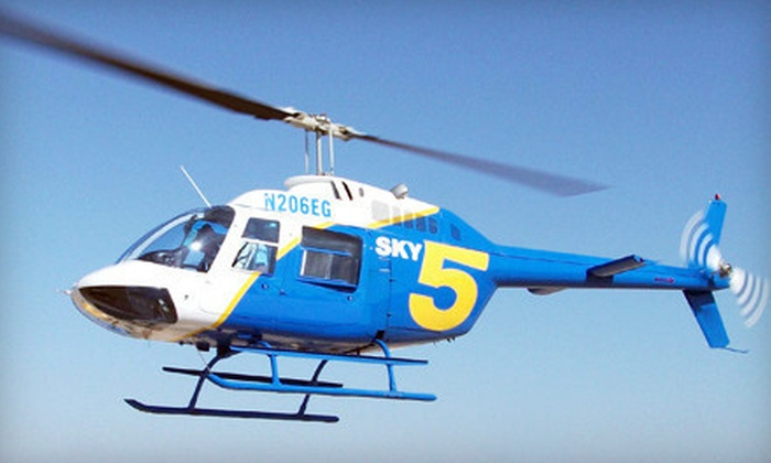 AirLift International LLC - Ontario: Helicopter Tour of Mount Baldy and Holiday Lights for One, Two, or Four from AirLift International LLC (Up to 51% Off)