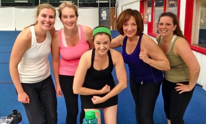 Adult fitness boot camps