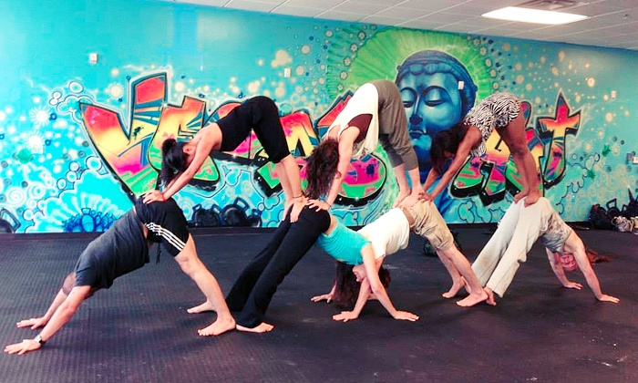 Vegas Hot! Yoga and Pilates - South West: 10 or 15 Fitness Classes at Vegas Hot! Yoga and Pilates (Up to 85% Off)