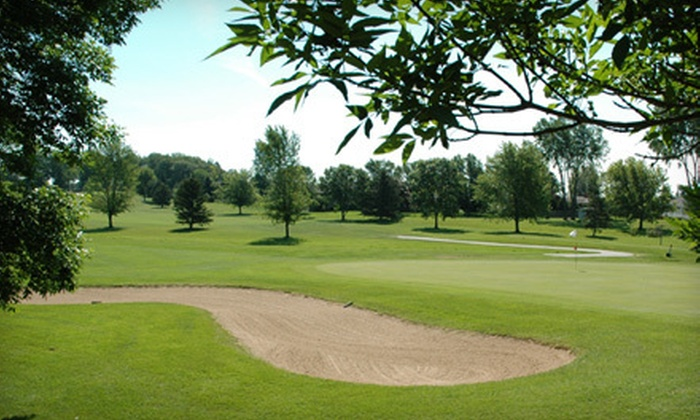 Royal Scot Golf Club - Scott: $125 for 2012 Driving-Range Pass and 18-Hole Round of Golf at Royal Scot Golf Club in New Franken (Up to $286 Value)