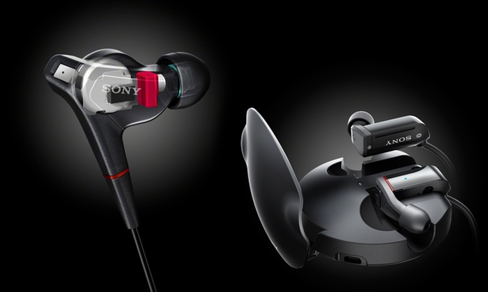 Sony Balanced Armature In-Ear Headphones: Sony Balanced Armature In-Ear Headphones (Up to 60% Off). Four Options Available. Free Shipping and Free Returns.