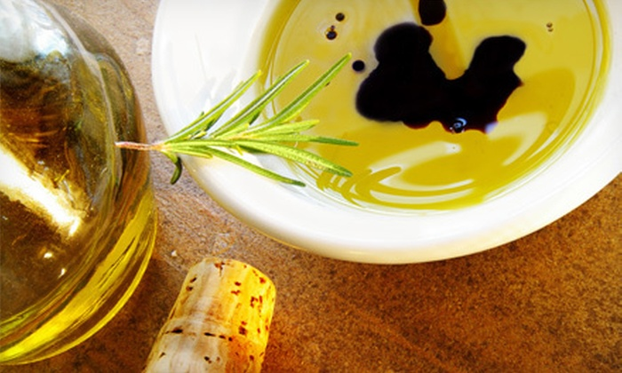 null - San Francisco: $10 for $20 Worth of Olive Oil and Vinegar at Amphora Nueva