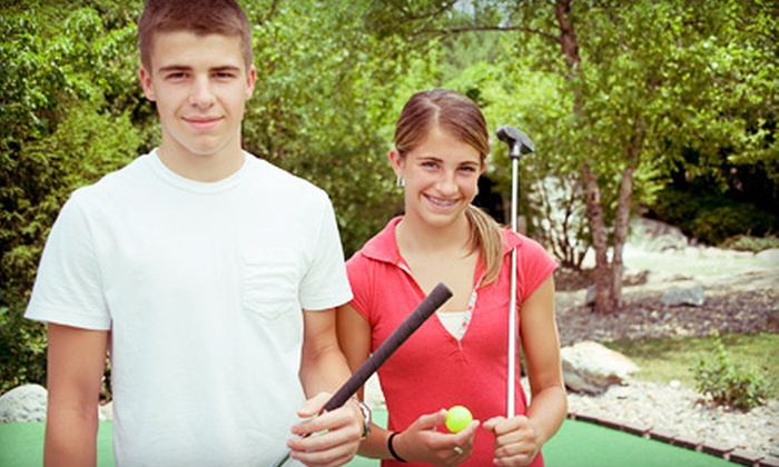 Rainforest Golf  - Stone Mountain: Mini Golf with Soda for Two or Four, or Mini Golf Party Package at Rainforest Golf (Up to 54% Off)