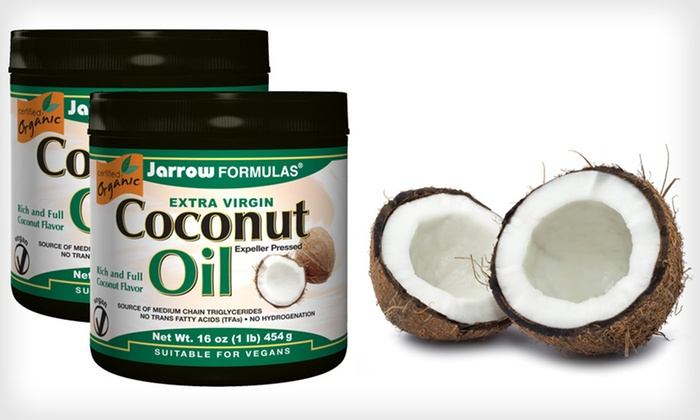 Two-Pack of Extra-Virgin Coconut Oil: $19 for Two 16-Ounce Tubs of Extra-Virgin Coconut Oil ($33.90 List Price). Free Shipping.