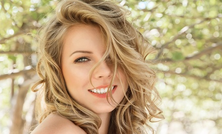 Haircut with Conditioning, Full Highlights, or Partial Highlights at Nevaeh Salon (Up to 55% Off)