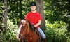 Cornerstone Ranch - Holden: $35 for a Two-Hour Guided Horseback Trail Ride at Cornerstone Ranch ($70 Value)