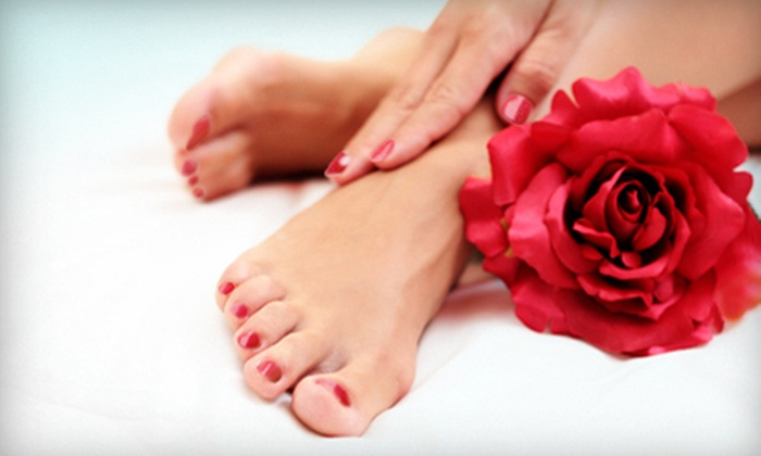 Simplicity Salon - West Chester: Gel Manicure or Spa Pedicure with Hand Treatment at Simplicity Salon (Up to 51% Off)
