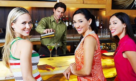 81% Off Lifetime Access to an Online Bartender Certification Program