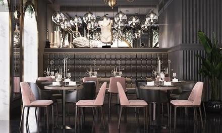 Menú Luxury para 2 o 4 personas entrante, principal, postre y bebida en Nabucco (hasta 54% de descuento)