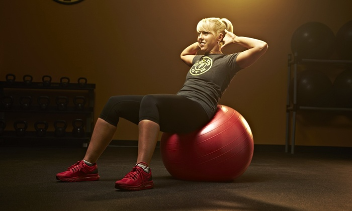 Gold's Gym - Multiple Locations: $49 for a Three-Month Membership to Gold's Gym (Up to $159 Value)