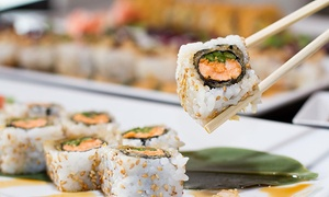 Obba Sushi & More: Sushi Fusion for Two or More at Obba Sushi & More (Up to 50% Off). Two Locations Available.