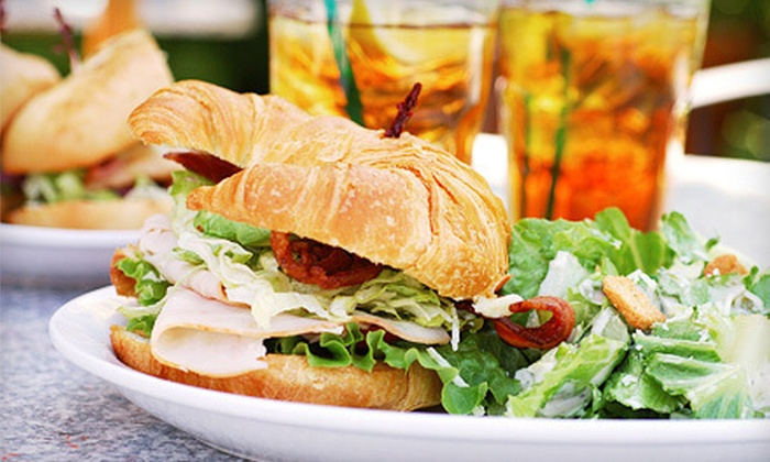 Tinker's Rainforest Deli - Anchorage: Make-Your-Own-Sandwich Meal and Drink for Two or Four at Tinker's Rainforest Deli (Up to 56% Off)