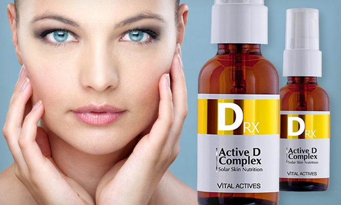 Vitamin-D Anti-Aging Serum: One or Two 1-Ounce Bottles of Vital Actives Vitamin-D Serum (Up to 82% Off). Free Shipping.