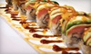 Sushi on the Rocks - Castleton: Japanese Food and Drinks at Sushi on the Rocks (Half Off). Two Options Available.