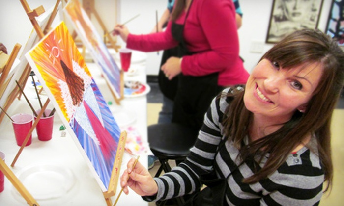 Unchartered Creativity - McDonough: Three-Hour BYOB Painting Workshop for One or Two at Unchartered Creativity (Up to 57% Off)