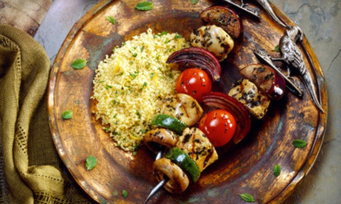Tahini - Downtown,East Village,NoHo: Middle-Eastern Dinner for Two or Four at Tahini (Up to 55% Off)