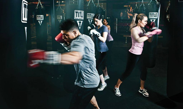 Title Boxing Club - Sycamore Mall: $19 for Two Weeks of Power Hour Boxing and Kickboxing Classes with Hand Wraps ($40 Value)