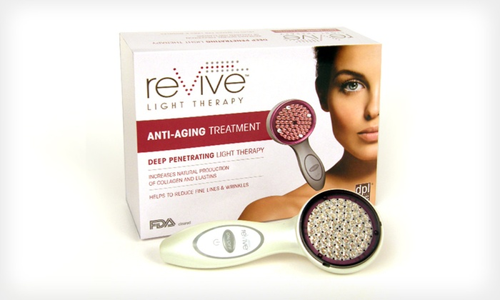 Revive Light Therapy LED Anti-Aging Treatment: $99.99 for Revive Light Therapy Deep-Penetrating LED Anti-Aging System ($179.95 List Price). Free Shipping and Returns.