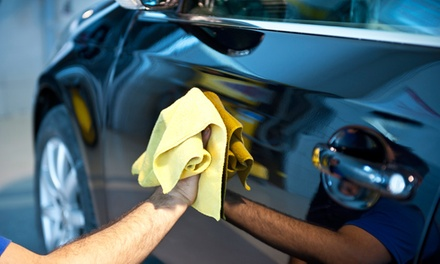 $25 for Better Express Wax and Premium Detail at Oceans Car Wash ($49.95 Value)