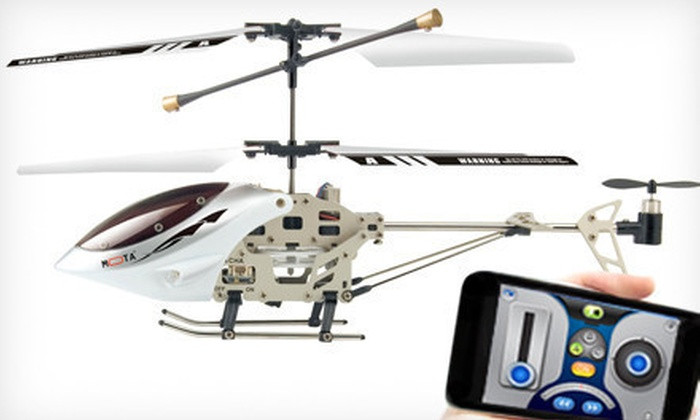 Mota Remote-Controlled Helicopter: $29 for a Mota Remote-Controlled Helicopter for iPhone, iPad, and iPod Touch ($129.99 Value)