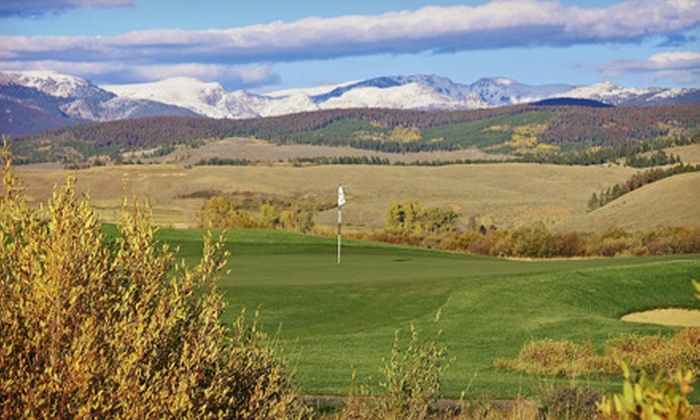 Grand Elk Golf Club - Granby: 18-Hole Round of Golf for Two or Four with Cart Rental and Range Balls at Grand Elk Golf Club (Up to 53% Off)